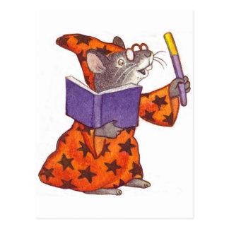 Postal Ratón del mago