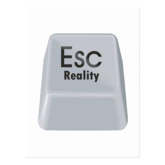 Postal Realidad del escape