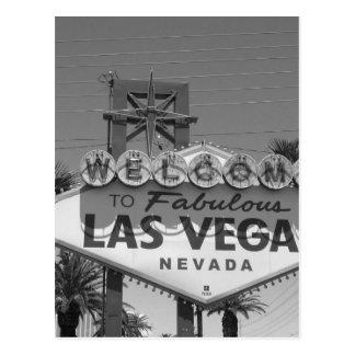 Postal Recepción a Las Vegas