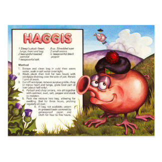 Postal Receta de Haggis