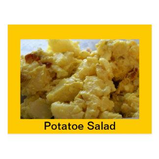 Postal Receta de la ensalada de patata
