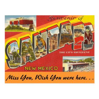 Postal Recuerdo de Santa Fe