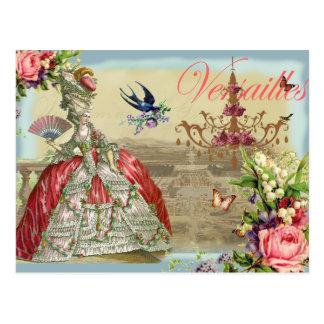 Postal Recuerdos de Versalles