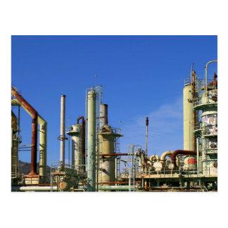 Postal Refinería de petróleo