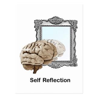 Postal Reflexión del uno mismo