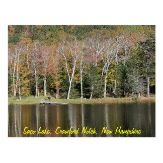 Postal Reflexiones en el lago Saco