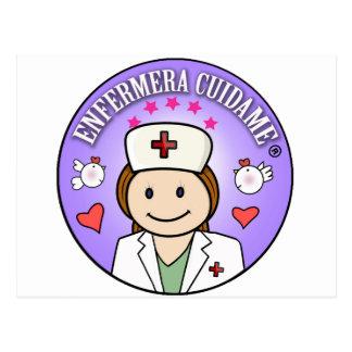 Postal Regalitos para Enfermeras Enfermera Cuidame