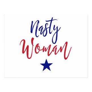 Postal Regalos desagradables de la mujer
