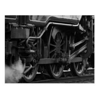 Postal Regalos locomotores del tren del motor de vapor