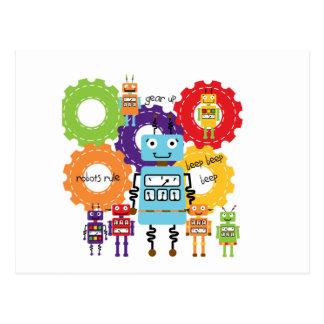 Postal Regla de los robots