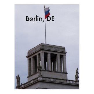 Postal Reichstag en Berlín