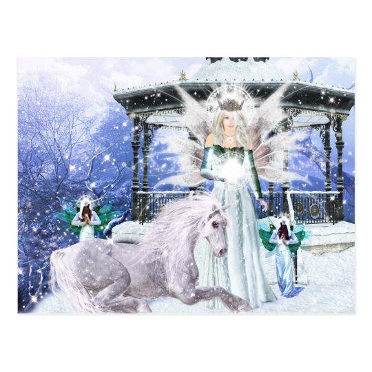 Postal Reina del hielo