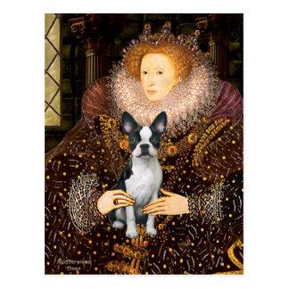 Postal Reina Elizabeth I - Boston T #1