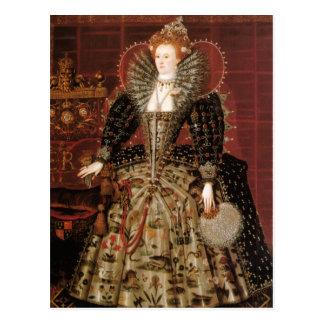 Postal Reina Elizabeth I de Inglaterra