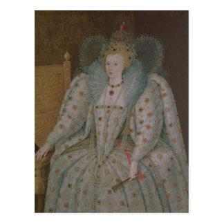 Postal Reina Elizabeth I de Inglaterra y de Irlanda