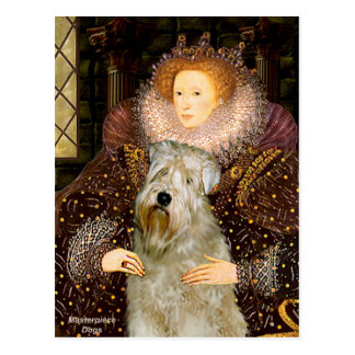 Postal Reina Elizabeth I - Terrier de trigo