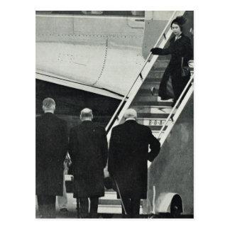Postal Reina Elizabeth II de la llegada como reina