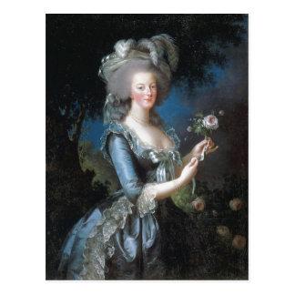 Postal Reina Marie Antonieta de la descripción sumaria de