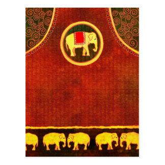 Postal Reino del elefante
