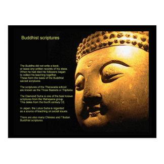 Postal Religión, escrituras, escrituras budistas