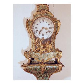 Postal Reloj del cártel del estilo de Louis XV