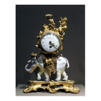 Postal Reloj del escritorio