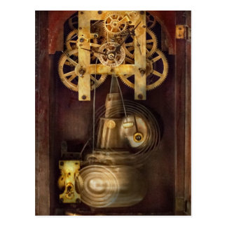 Postal Relojero - el mecanismo