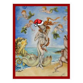 Postal Renacimiento del inconformista de Venus