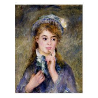 Postal Renoir - el Ingenue