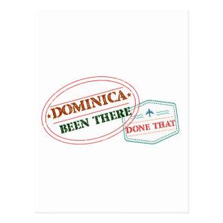 Postal República Dominicana allí hecho eso