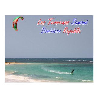 Postal República Dominicana de Kitesurfing Las Terrenas