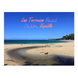 Postal República Dominicana de Las Terrenas Samana