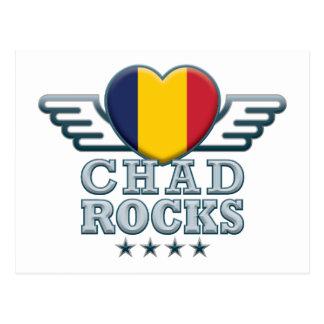 Postal República eo Tchad oscila v2