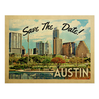 Postal Reserva de Austin la fecha Tejas