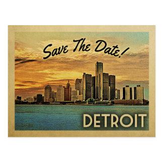 Postal Reserva de Detroit la fecha Michigan