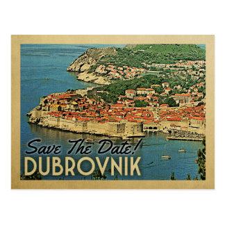 Postal Reserva de Dubrovnik el vintage Croacia de la