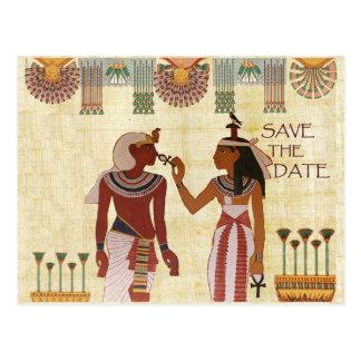 Postal Reserva de Egipto antiguo el hiero del africano de