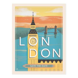 Postal Reserva de Londres el | la fecha