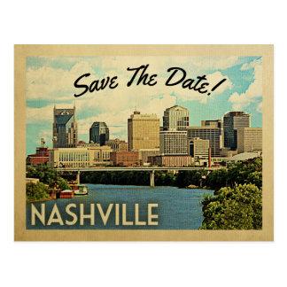 Postal Reserva de Nashville la fecha Tennessee