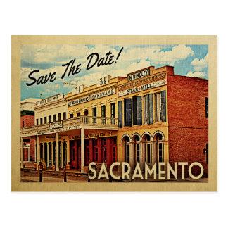 Postal Reserva de Sacramento la fecha California