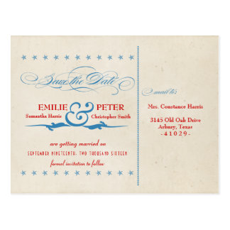 Postal Reserva del rojo, blanca y del azul del poster del