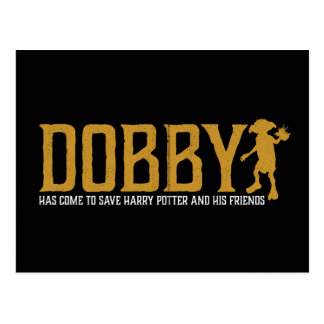 Postal Reserva Harry Potter del Dobby de Harry Potter el