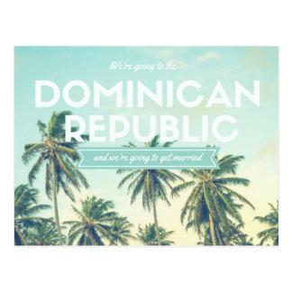 Postal Reserva tropical de la playa de la República