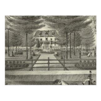Postal Residencia del tonelero de JP, Rumson New Jersey