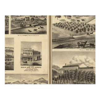 Postal Residencias de Frank McElarney, HF Gerkhardt