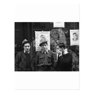 Postal Resistencias de la calle para el FDR: 1936