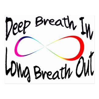 Postal respiración infinita