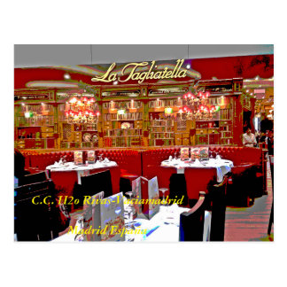 Postal Restaurante centro comercial H2O de Rivas vaciamad