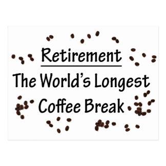 Postal Retiro: El descanso para tomar café más largo del