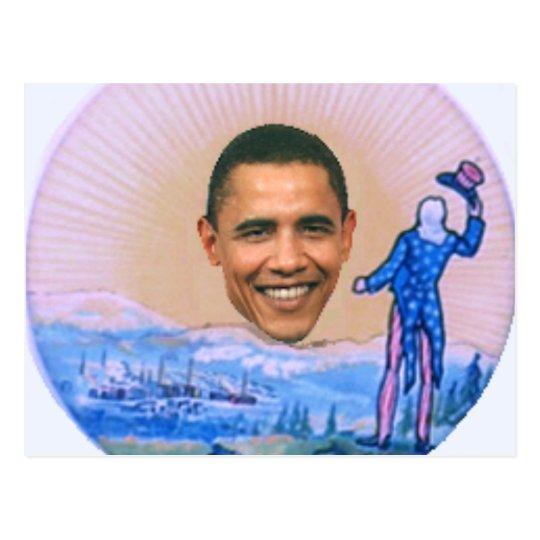 Postal retra 1904 de Obama